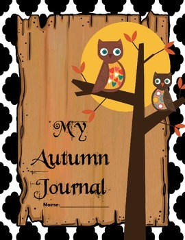 Autumn Prompts and Writing Journal