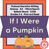 Pumpkin Writing: Fictional Narrative And Science