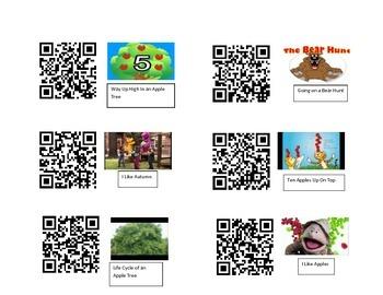 Autumn QR Codes