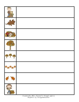 Autumn Read Around the Room Common Core Literacy and Math Centers