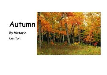 Autumn Reading Book