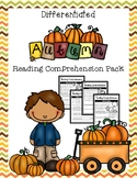 Autumn Reading Comprehension Pack