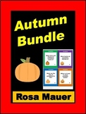 Autumn Reading Fall Literacy and More Bundle