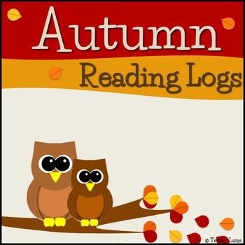 Autumn Reading Logs