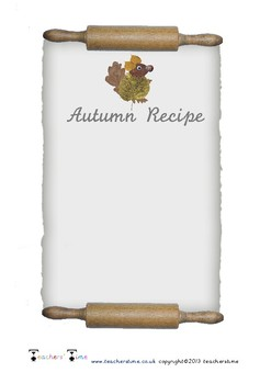 Autumn Recipe