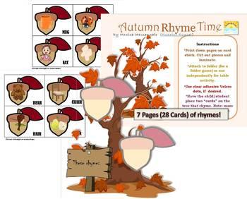 Autumn Rhyme Time