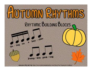 Autumn / Fall Rhythms: Composition & Drum Circle Activity