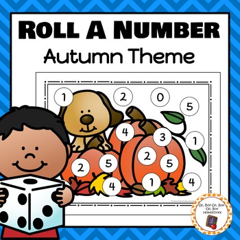 Autumn Roll A Number 0-10