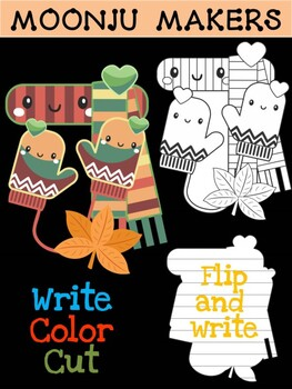 Autumn Scarf and Gloves - MOONJU MAKERS Printable