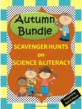 Scavenger Hunts Bundle on Science and Literacy