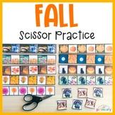 Autumn Scissor Practice   Cutting Strips