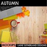 Autumn Seasonal Scenes Styled Mockups