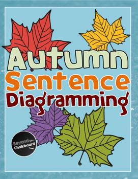 Autumn Sentence Diagramming Worksheet