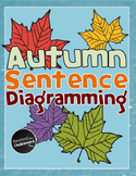Autumn Sentence Diagramming Worksheet