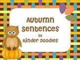 Autumn Sentences