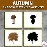 Autumn Shadow Matching Activity
