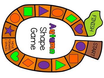 Autumn Shape Board Game
