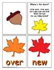 Autumn Sight Word Recognition Center or Whole Group Game for Fry 101-200