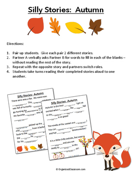 Autumn Silly Stories