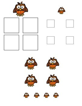 Autumn Size Sorting Folder Game for Early Childhood Special Education