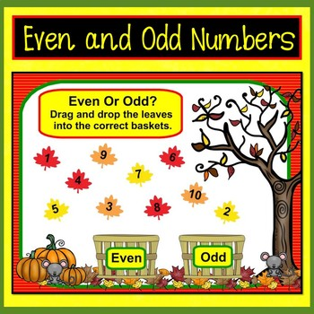 Smart Board Math Fall Fun: Counting, Addition, Subtraction, & Word Problems