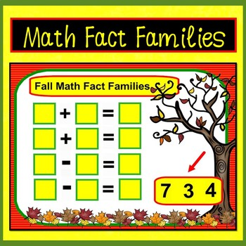Smartboard Math Fall Fun: Counting, Addition, Subtraction, & Word Problems