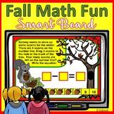 Fall Activities for Kindergarten SMARTboard Math
