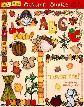 Autumn Smiles Clip Art Download