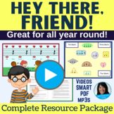 Back to School Song & Welcome Activity | mp3s, Music, Less