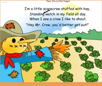 Autumn Songs for the SMARTBoard