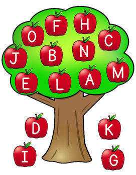 Autumn Spanish ABC Centers:  Fall Workstations for the Spanish Alphabet
