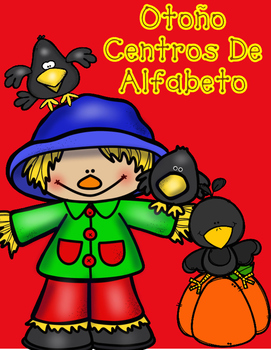Autumn Spanish ABC Centers:  Fall Workstations for the Spanish Alphabet
