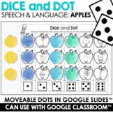 Fall Dice and Dot For Speech & Language