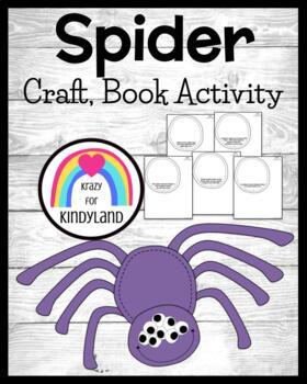 Autumn: Spider Craft and Book