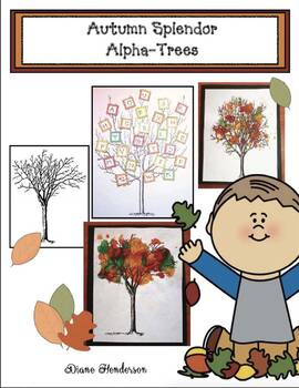 Autumn Splendor Alphabet Trees
