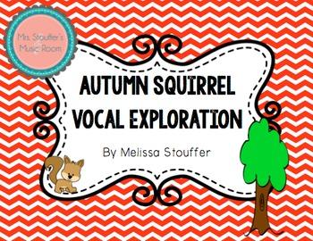 Autumn Squirrel Vocal Exploration