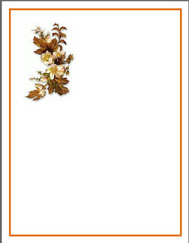 Autumn Stationary Bundle