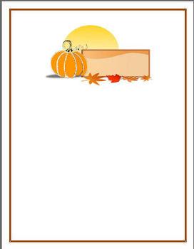 Autumn Stationary Bundle