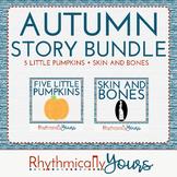 Autumn Storytime Bundle - Skin and Bones and Five Little Pumpkins
