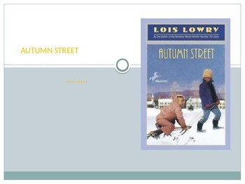 Autumn Street by Lois Lowry: Daily Guide for Lit Circle