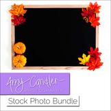 Autumn Styled Blackboard Photos