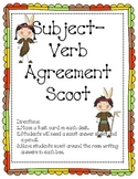 Autumn Subject Verb Agreement Scoot