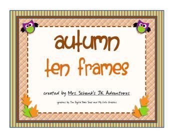 Autumn Ten Frames