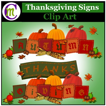 Autumn and Thanksgiving Signs
