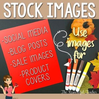 Autumn Theme Styled Stock Photos - Products for TpT Sellers