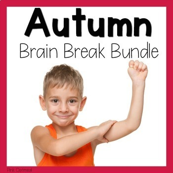 Autumn Themed Brain Break Bundle