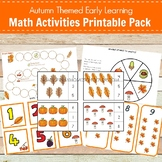 Montessori Inspired Autumn Themed Early Learning Math Pack