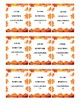 Autumn Themed Homophone Concentration Game - 5≥ letters