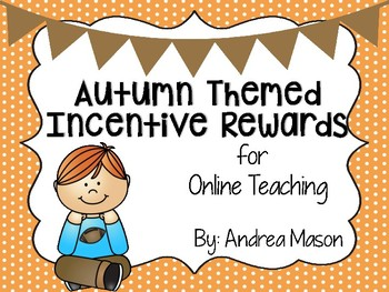 Autumn Themed Incentive Rewards for Online Teaching (VIPKid)