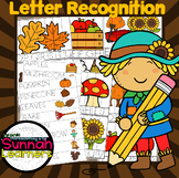 Autumn Themed Letter Recognition Puzzles